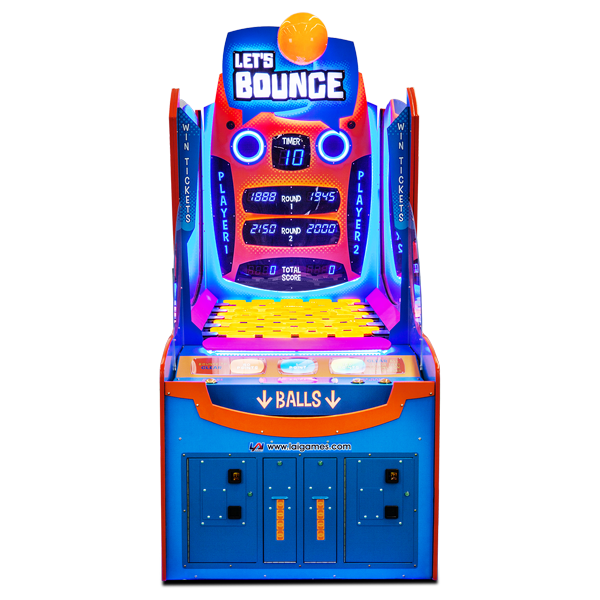 Let's Bounce Arcade Game