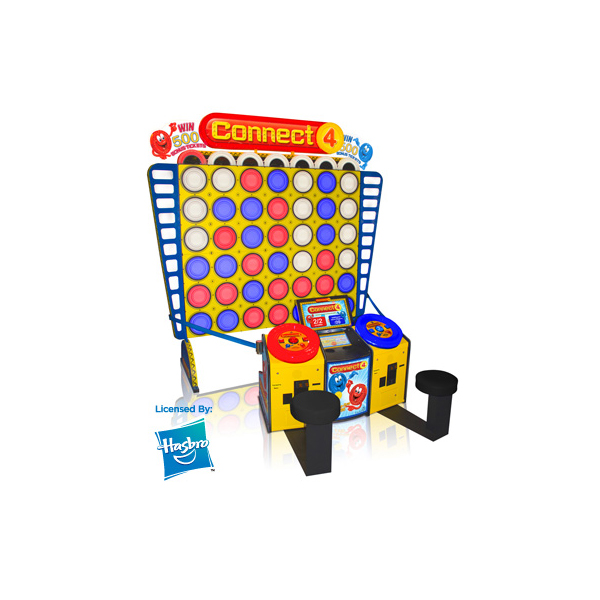 Connect 4 Deluxe family fun redemption amusement game picture