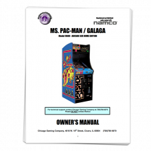 Ms Pacman Manual