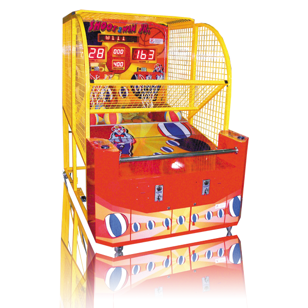 Shoot to Win Basketball Arcade Game Cabinet Smart Industries