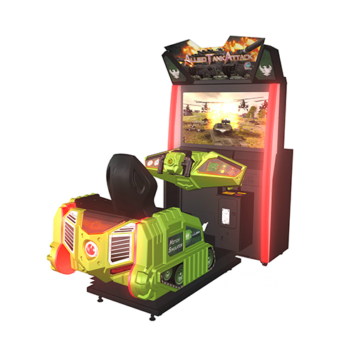 Alled Tank Attack Single amusement game picture