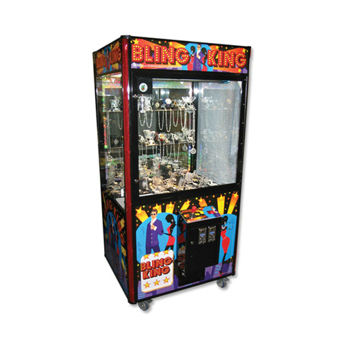 "Bling King 40"" merchandiser-crane amusement game picture"