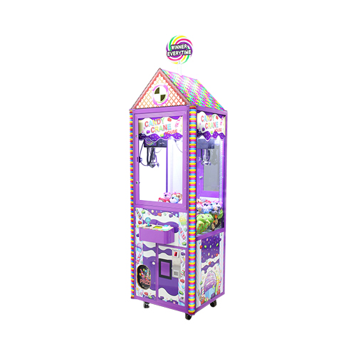 Candy Crane House merchandiser-crane amusement game picture