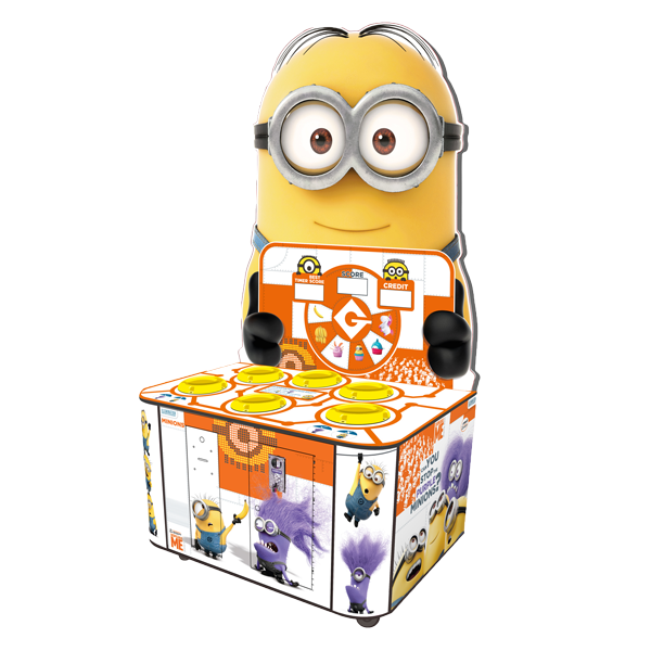 Despicable Me Minion Wacker family fun redemption amusement game picture