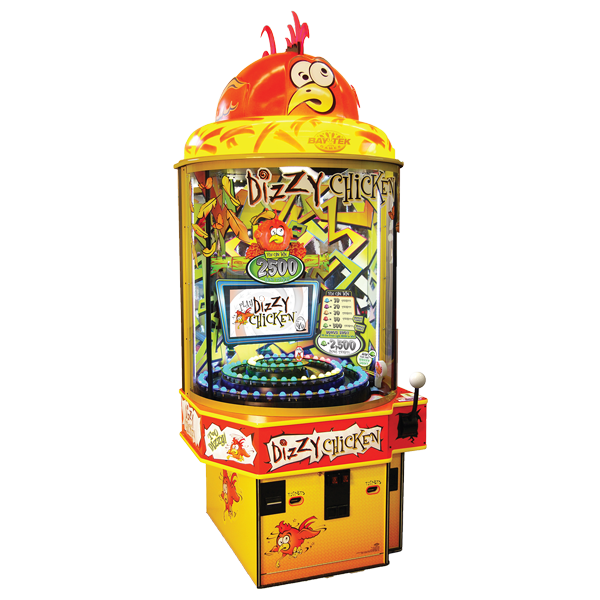 Dizzy Chicken family fun redemption amusement game picture