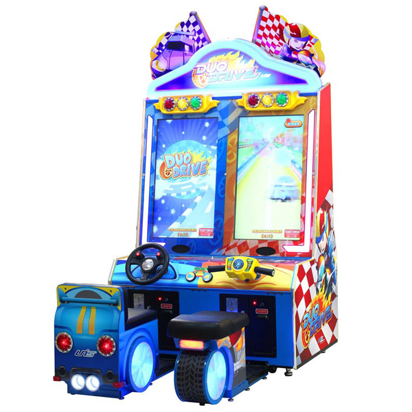 Duo Drive family fun amusement game picture
