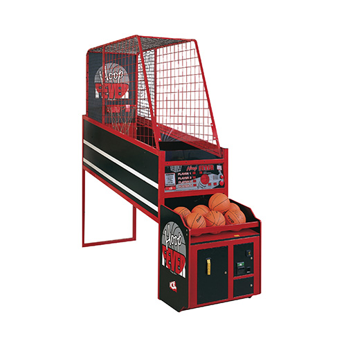 Hoop Fever Arcade Game product front end angled picture