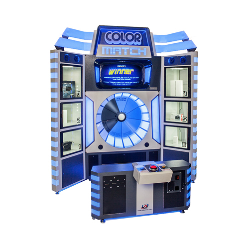 Mega Color Match merchandiser-crane amusement game picture