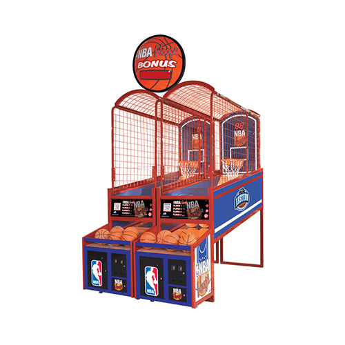 NBA Hoops arcade game product front end angled picture