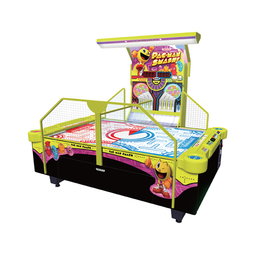 Pac-Man Smash Air Hockey amusement game picture