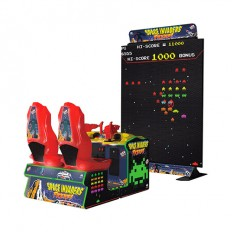 Space Invaders Frenzy video amusement game