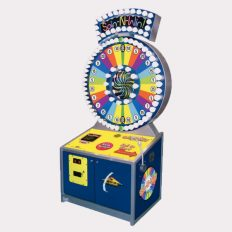 Spin N Win family fun arcade game right angle of cabinet image