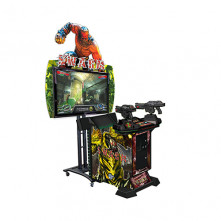 The Swarm video amusement game