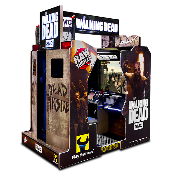 The Walking Dead Arcade by Raw Thrills & Play Mechanix