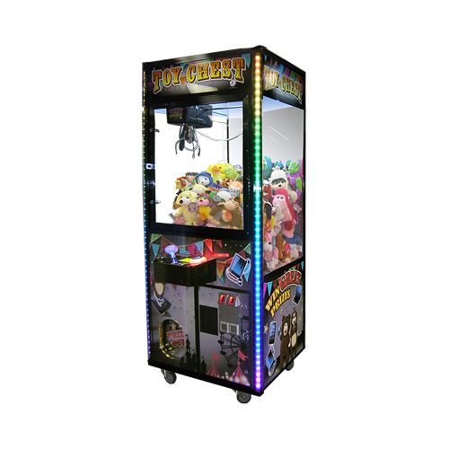 Toy Chest merchandiser-crane amusement game picture