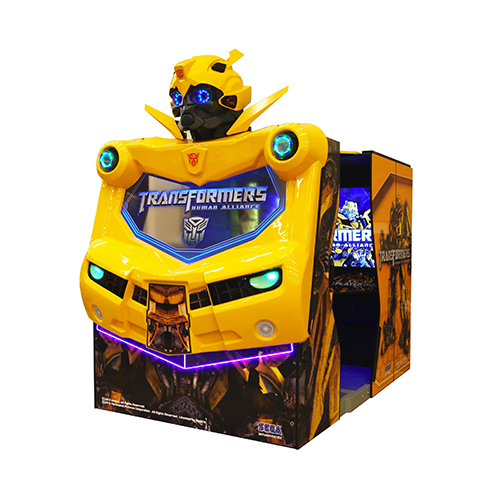 """Transformers 55"""" Theatrevideo amusement game"""