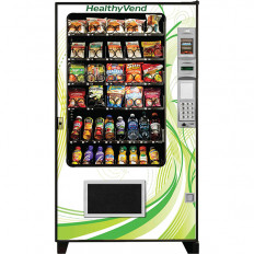 AMS Health Vending Machine Snacks Juice Water Fruits Vegetables Foods Accessories Design Display