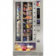 Crane Revolution Model 962 Vending Machine Most Popular Food Merchandiser Two Way Rotation Fresh Food