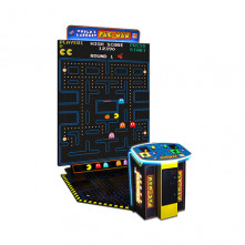 World's Largest Pac-Man 10' Screen video amusement game