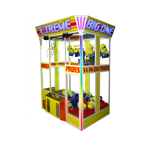 X-Treme Big One merchandiser-crane amusement game picture