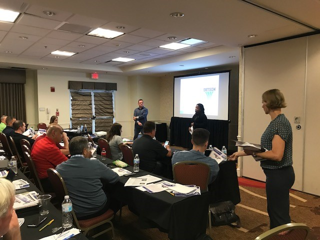 Betson's second team summit, held at the Hilton Garden Inn at Seaworld
