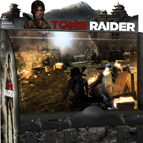 Tomb Raider Arcade Game Adrenaline Amusements Betson