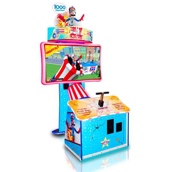 Willy Crash Arcade from Bay Tek - Betson Enterprises