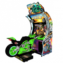 Super Bikes 3 Green Bike Raw Thrills - Betson Enterprises