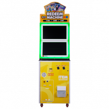 The Redeem Machine by Andamiro Front of Cabinet - Betson