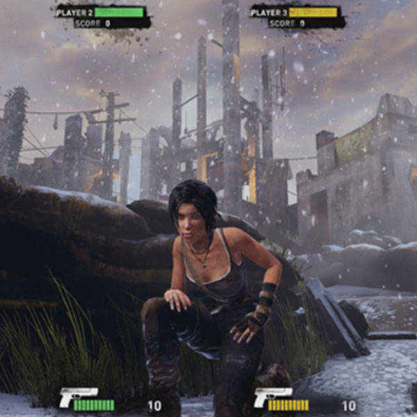 Tomb Raider 65 Arcade Game Betson Enterprises