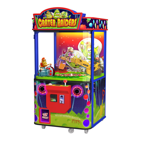 Crater Raiders Cabinet Arcade by Family Fun Companies - Betson Enterprises