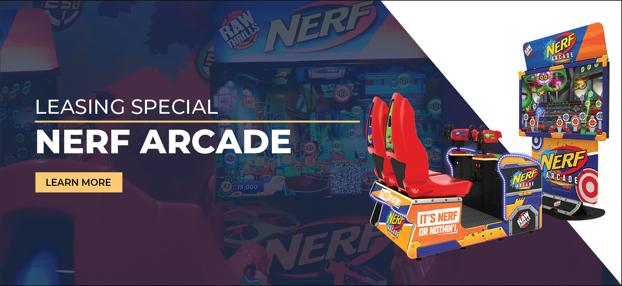 Nerf Arcade Leasing Special