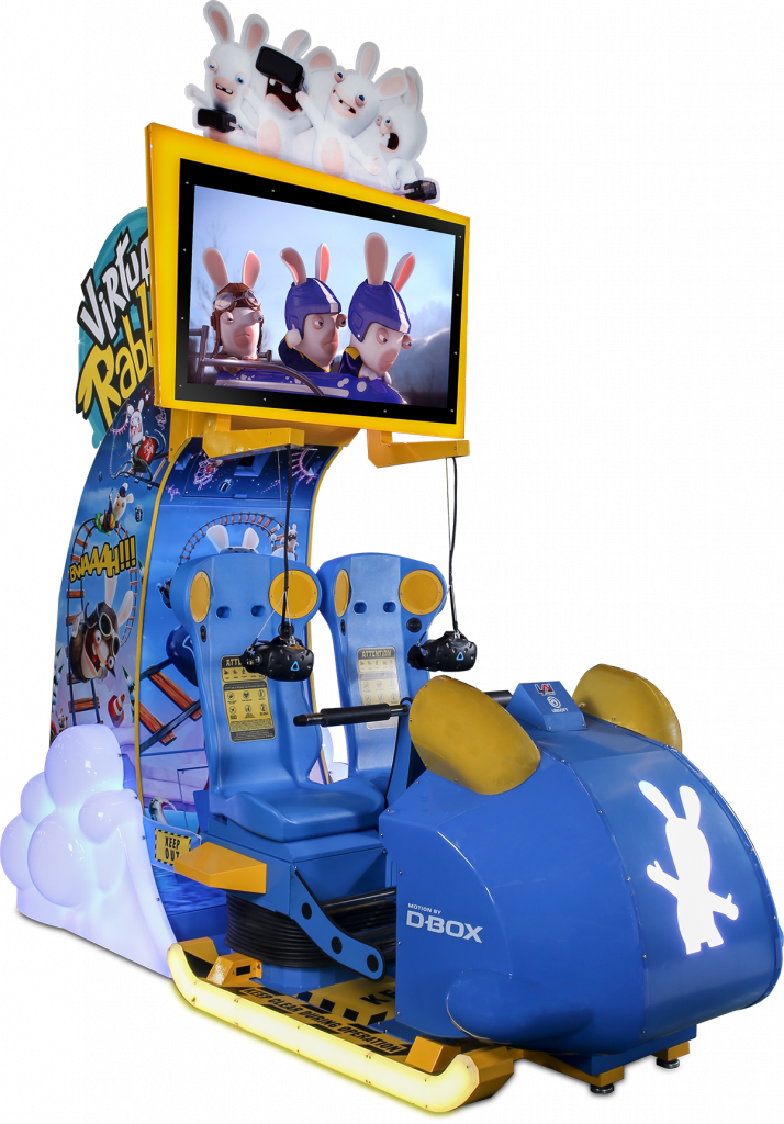 Virtual Rabbids The Big Ride Cabinet LAI Games Betson