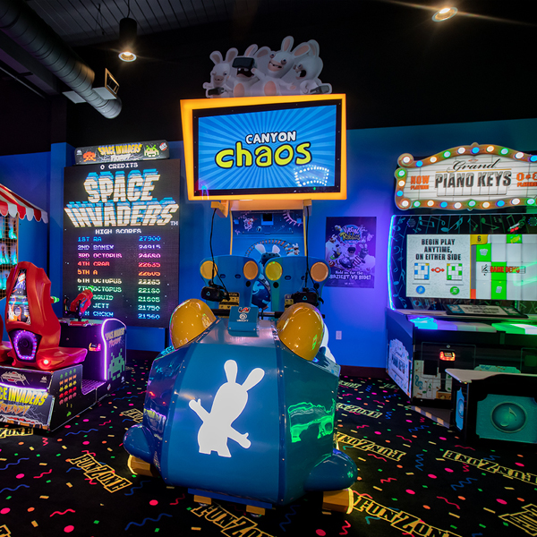 Fun Zone Pizza Ranch Game Room