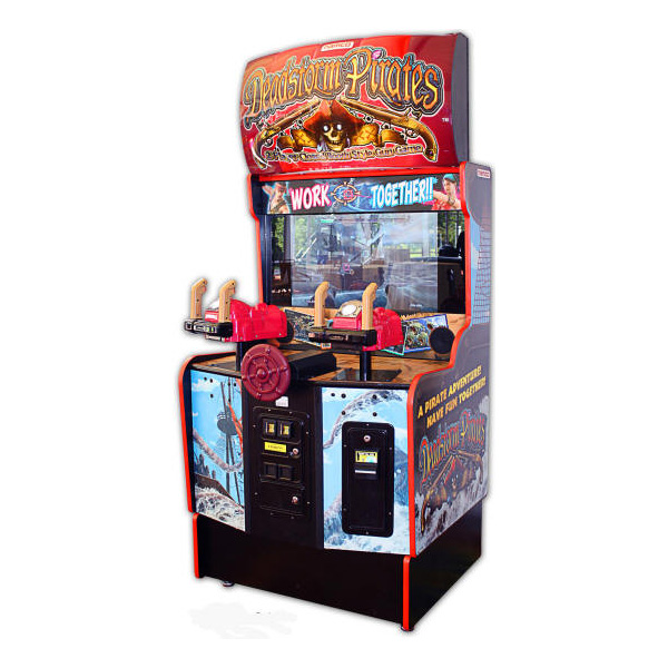 Deadstorm Pirates Used Arcade Game Namco
