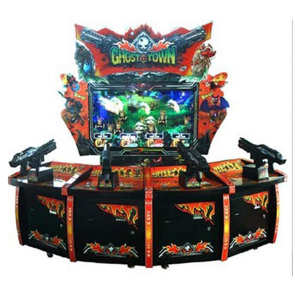 Ghost Town Arcade Game Used LAI Games