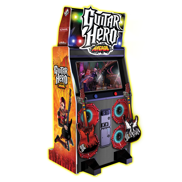 Guitar Hero Arcade Available Used Raw Thrills