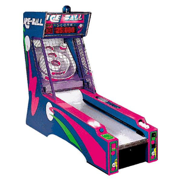 Ice Ball Arcade Game Used ICE