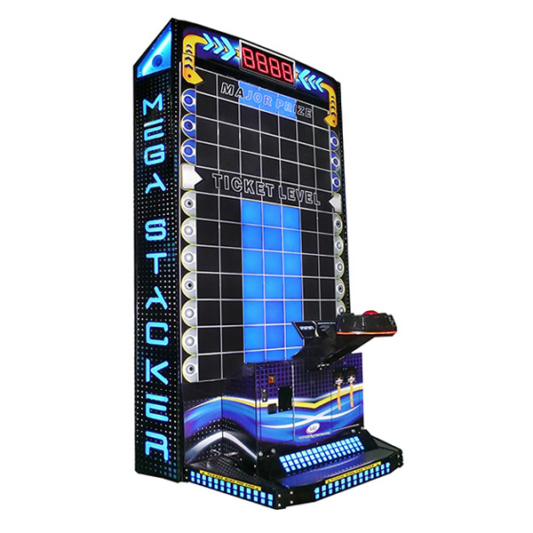 Mega Stacker Ticket Lite Used Arcade LAI Games