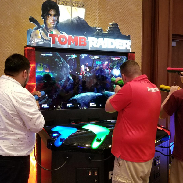 Tomb Raider Arcade Game Adrenaline San Antonio Spotlight Show