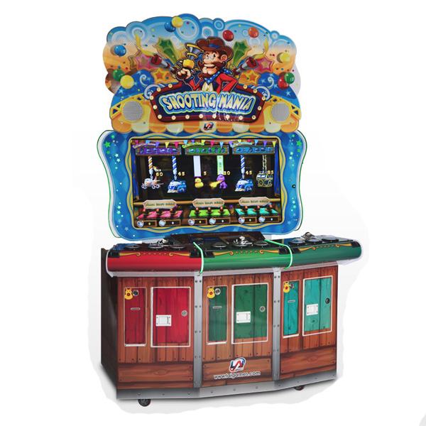Shooting Mania 3-Player Used Arcade Game LAI Games