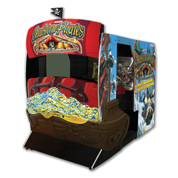 Deadstorm Pirates Used Arcade Game