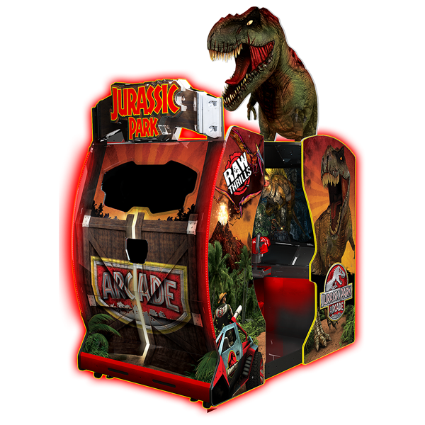 Jurassic Park Arcade by Raw Thrills - Water Parks