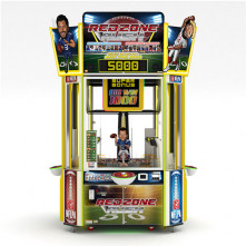 Red Zone Rush Redemption Front of Cabinet by Bandai Namco - Betson Enterprises