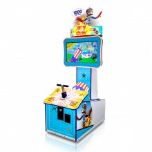 Willy Crash Mini Cabinet by Bay Tek Entertainment - Betson Enterprises