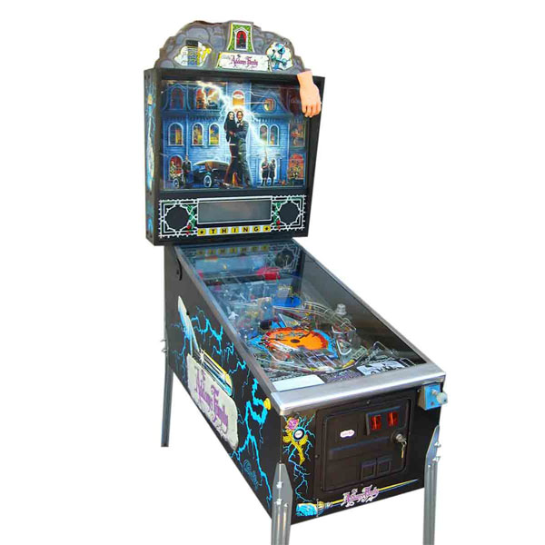 The Addams Family Pinball Used by Williams Electronics