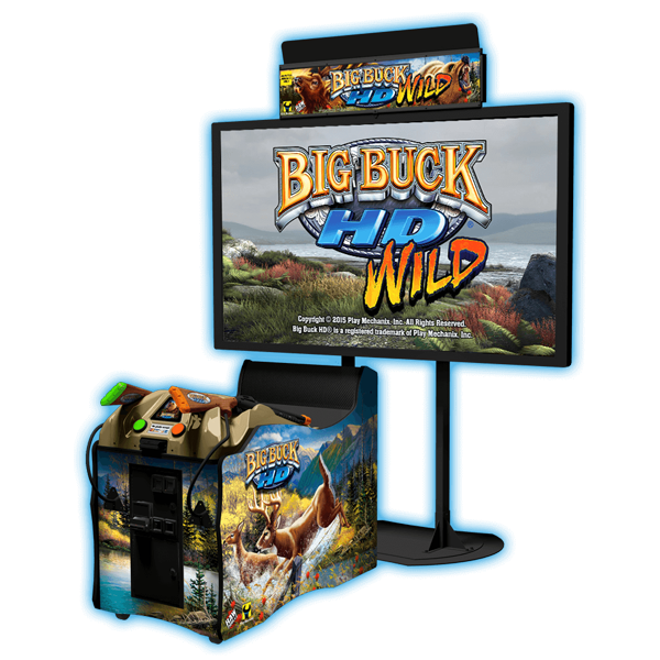 "Big Buck HD Wild 80"" Cabinet"