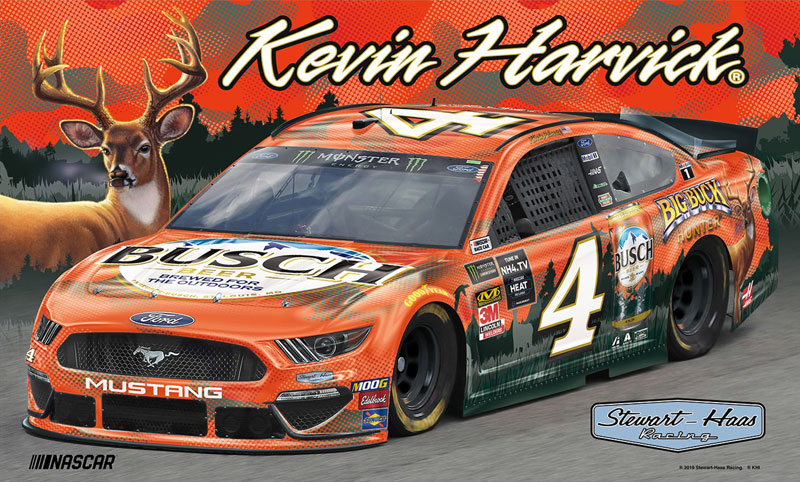 Kein Harvick's NASCAR Big Buck Hunter x Busch car