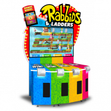 Rabbids & Ladders Cabinet by Adrenaline Amusements