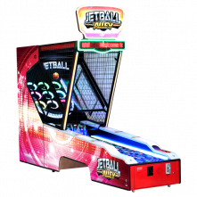 Jetball Alley Redemption Arcade Game by UNIS